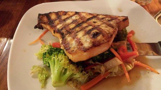 Port O' Call Restaurant and Gaslight Saloon: Grilled Swordfish