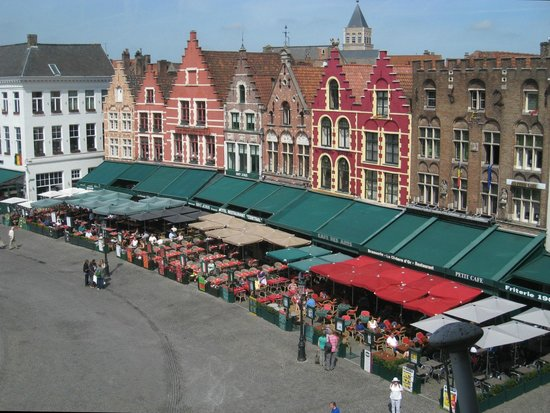 Grand-Place : Dining with a view