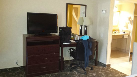 Ramada by Wyndham Los Angeles/Downtown West: room & TV