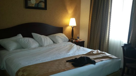 Ramada Los Angeles/Downtown West : bed