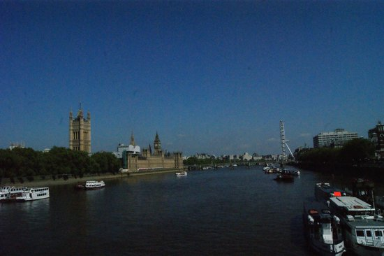 Houses of Parliament: desde el puente Lambeth