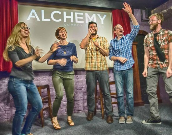 Alchemy Comedy Theater: That's our show!