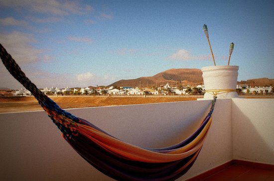 Surf Riders Fuerteventura: terrazzino romantico ben allestito