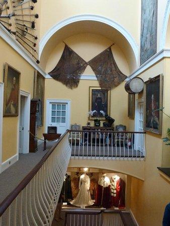 Inveraray Castle: Das Treppenhaus