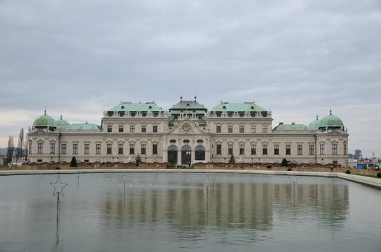 Schloss Belvedere: Верхний Бельведер