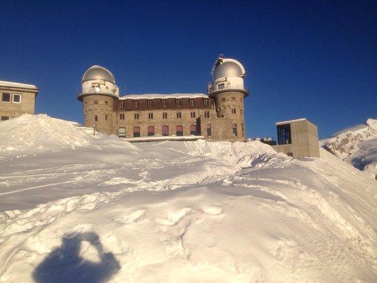 Gornergrat: Ottima esperienza per arrivare ad alta quota riposato, godendo dello stupendo panorama!