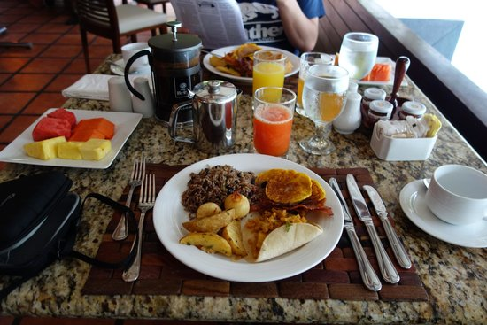 Tabacon Thermal Resort & Spa: breakfast