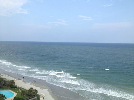 Hilton Myrtle Beach Resort: view from oceanfront room