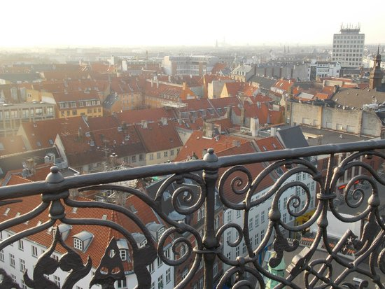 Rundetaarn: Love those rooftops