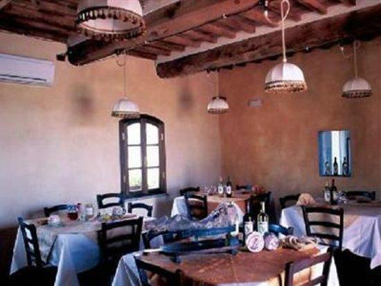 Agriturismo I Greppioli: La sala da pranzo de I Greppioli