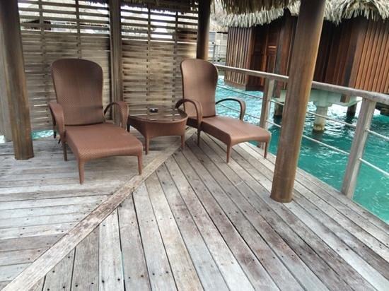Sofitel Bora Bora Marara Beach Resort: ponton privé au bungalow