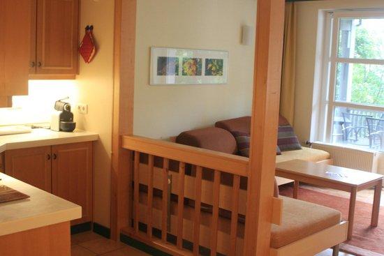 Hapimag Resort Winterberg: Küchen- Wohnbereich