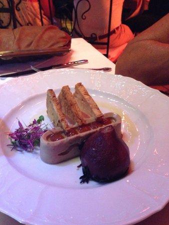 Vino Socca : Foie gras
