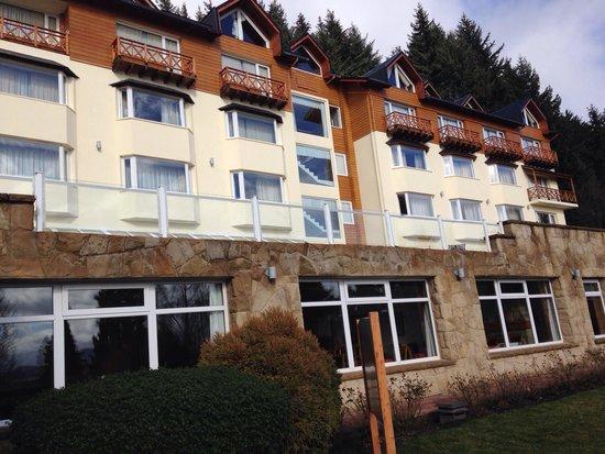 Hotel Villa Huinid Bustillo: Fachada