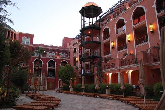 The Grand Resort Hurghada : Hotelanlage