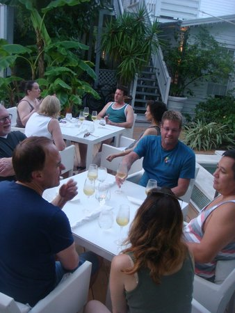 Alexander's Guesthouse : Opening Dinner of The Healthy Living Retreat 2014
