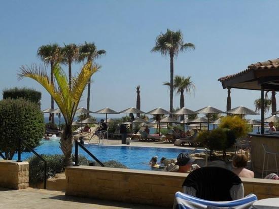 Atlantica Golden Beach Hotel : view from terrace