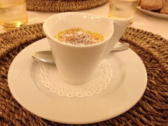 Locanda al Pozzo Antico: Crème brûlée