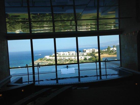 Porto Elounda Golf & Spa Resort: looking out