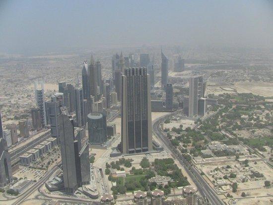 Burj Khalifa : top