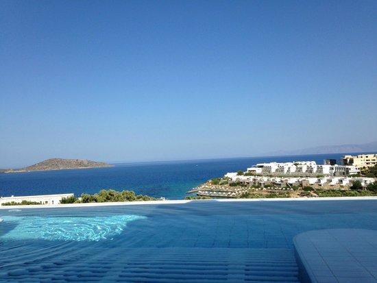 Porto Elounda Golf & Spa Resort: from the pool area