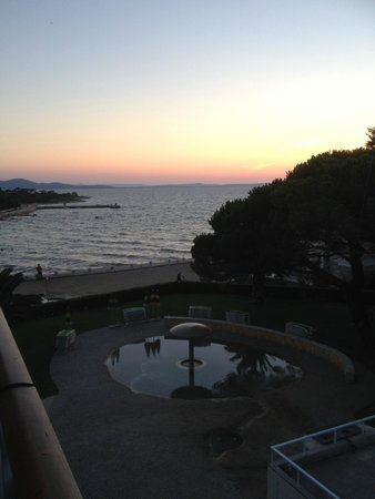 Falkensteiner Club Funimation Borik: Evening view from our balcony