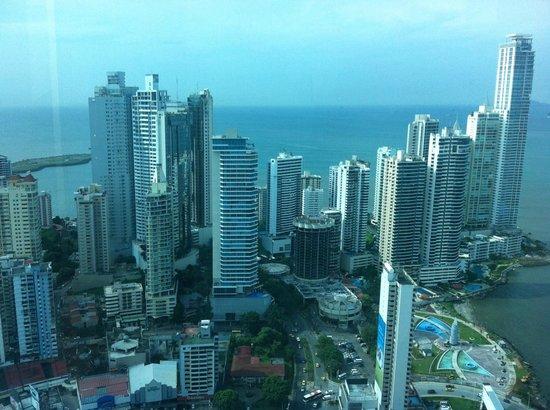 Hard Rock Hotel Panama Megapolis: Vista desde la habitación piso 52