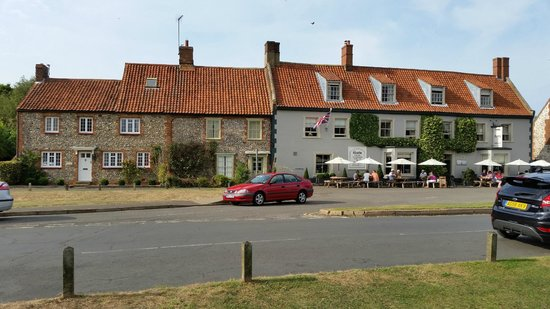 The Hoste: View from other side of the road