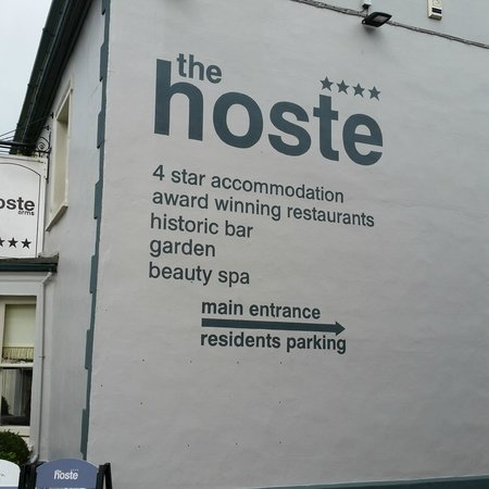 The Hoste: The outside