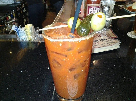 Bloody Mary at Beer Kitchen