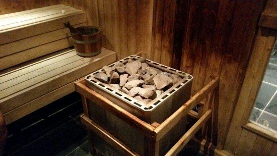 Queens Hotel : Sauna