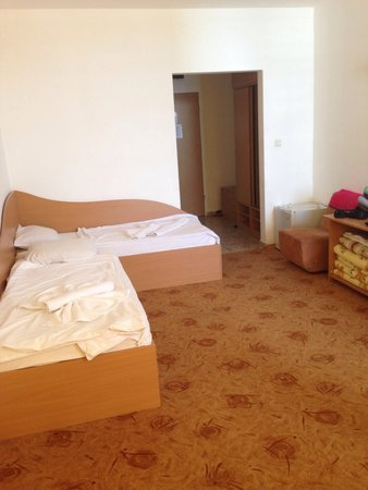 Trakia Garden Hotel : Living room / bedroom