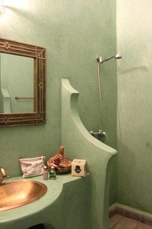 Riad Dar Zampa: la mejor ducha