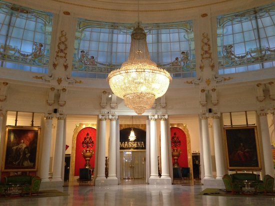Hotel Negresco : Холл