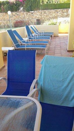 Colina del Paraiso by CheckIN: La terraza privada de nuestra habitacion