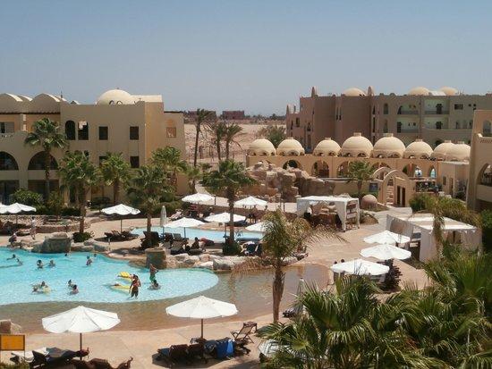 Three Corners Palmyra Resort: widok z pokoju