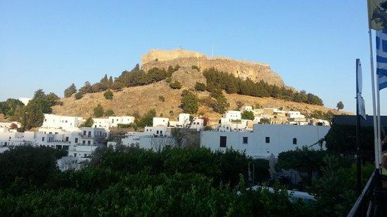 Pefkos View Studios & Apartments: Lindos