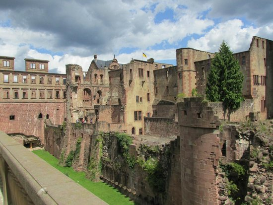 Schloss Heidelberg: Castle grounds and ruins