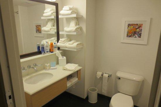 Hampton Inn & Suites Hershey Near The Park: Bashroom