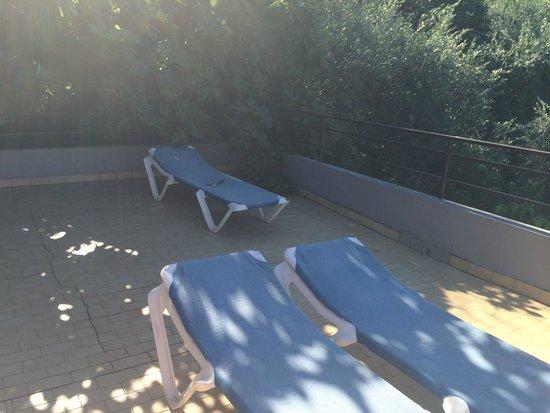 Hotel Paradiso: terrazzo