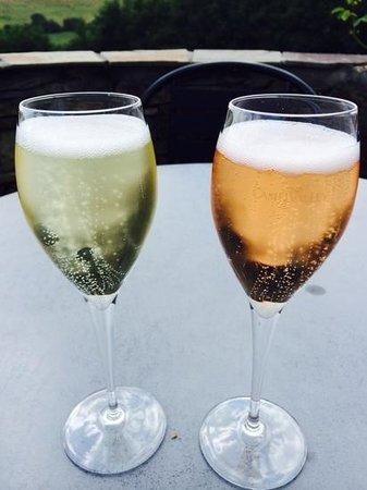 Camel Valley Vineyard: Bubbles...