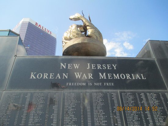 Atlantic City Boardwalk: Korean War Memorial
