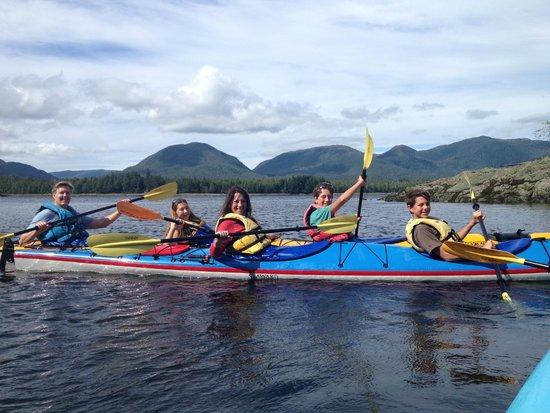 Southeast Sea Kayaks : Family fun!