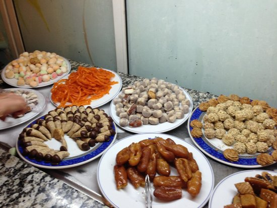 Joya Paradise : Buffet desserts