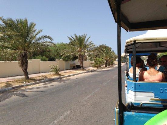 Joya Paradise : Petit train pour aller a la plage