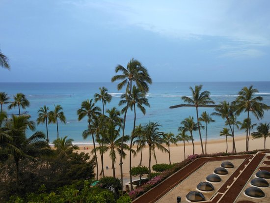 Hilton Hawaiian Village Waikiki Beach Resort : View from room