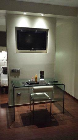 Hotel Regina: Sitting area