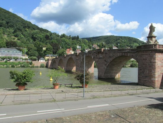 Carl Theodor Old Bridge (Alte Brucke): View of the bridge