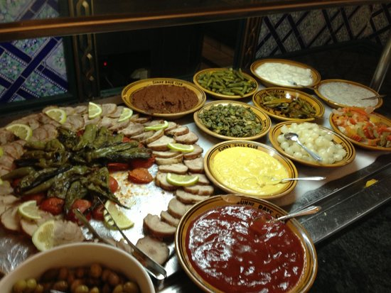 Joya Paradise : Un des buffets