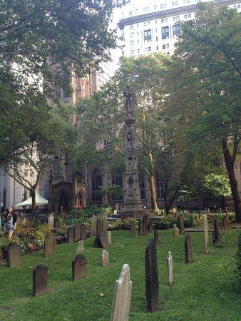 The Wall Street Experience - Wall Street Tours: Trinity Church